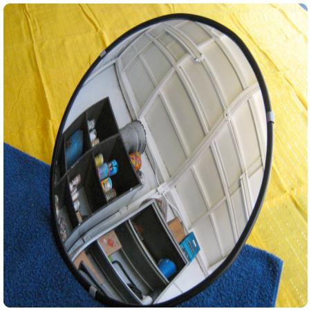 Espejos para seguridad y vigilancia for Donde venden espejos
